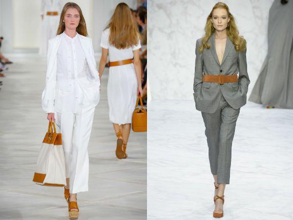 Модные классические костюмы женские 2016