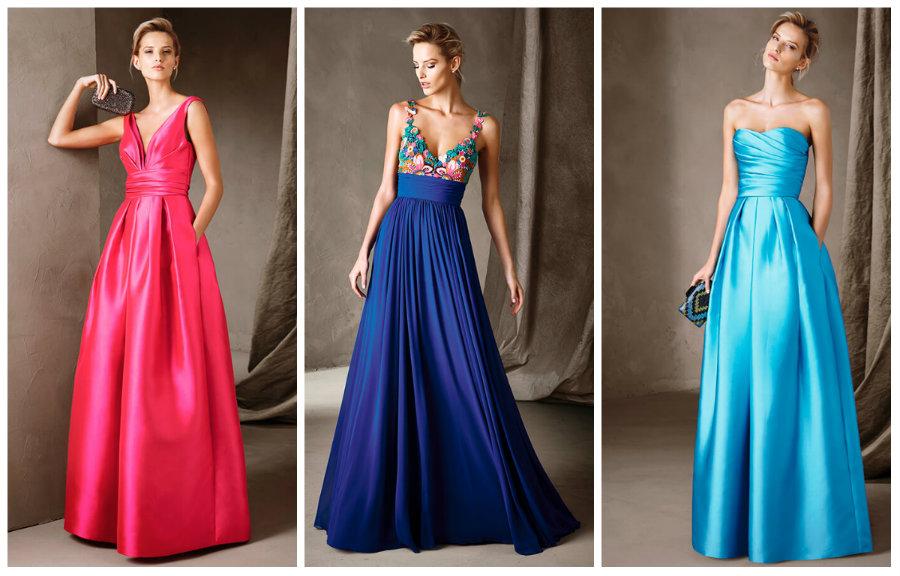 Фото красивых вечерних платьев и женских одежды