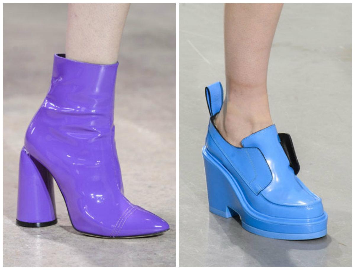 Какая обувь в моде в 2018 году фото
