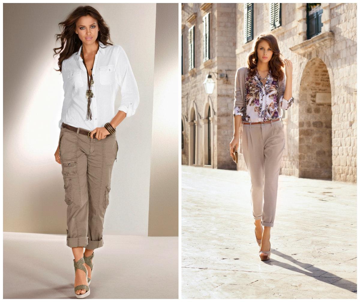 Мода весна 2018 брюки фото женская