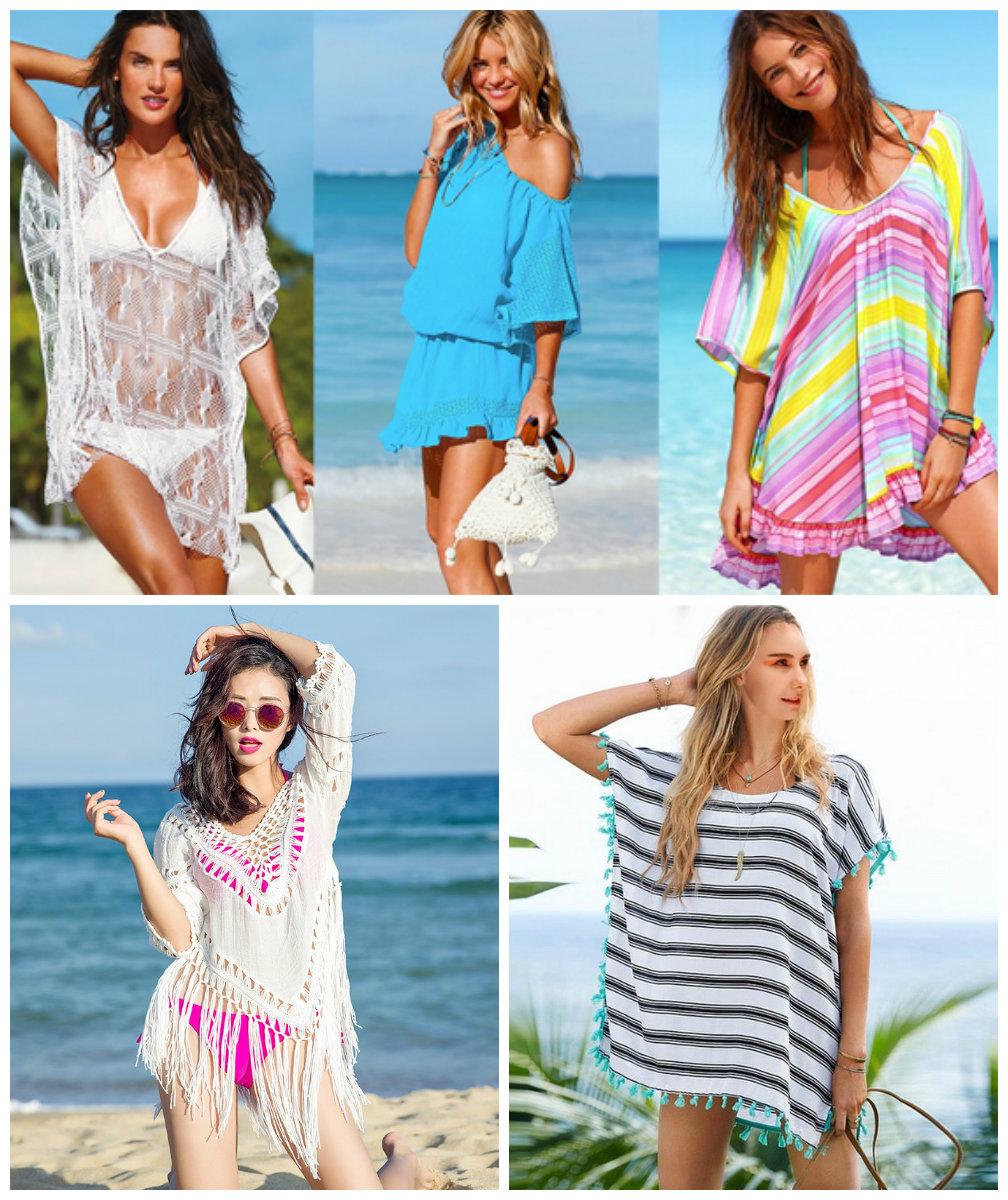 Пляжная мода лето 2018 тенденции фото
