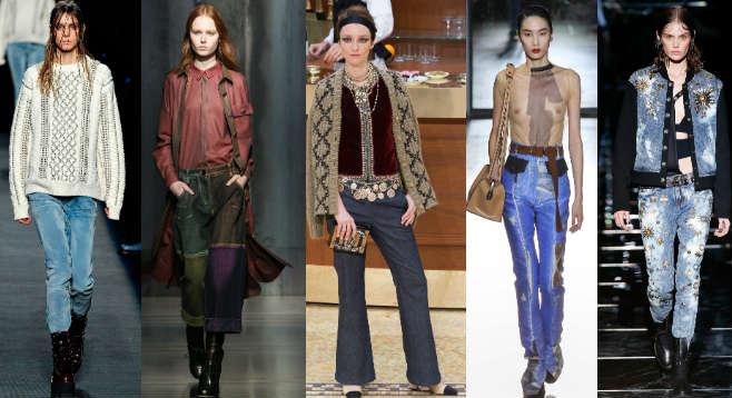 Женские-джинсы-модные-тенденции-2016-2
