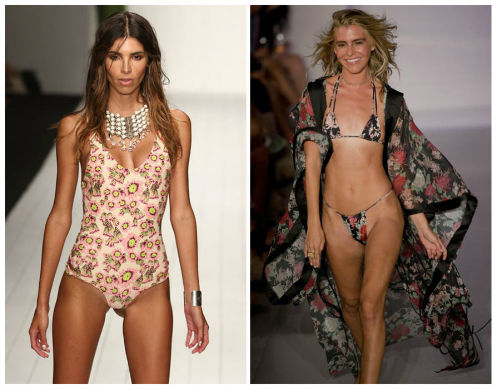 Неделя-пляжной-моды-в-Майами-Лучшие-купальники-2016-цветочные- принты