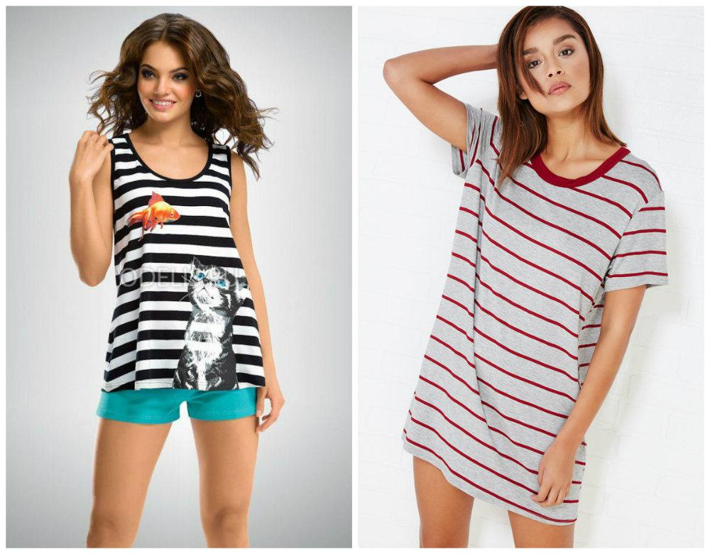 Ночные-шорты-Ночное-белье-модные-тенденции-2016-2