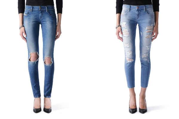 Рваные-Женские-джинсы-модные-тенденции-2016
