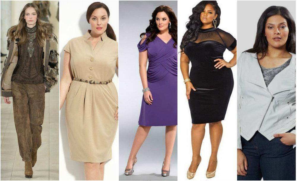 Женская одежда больших размеров  модная мужская женская