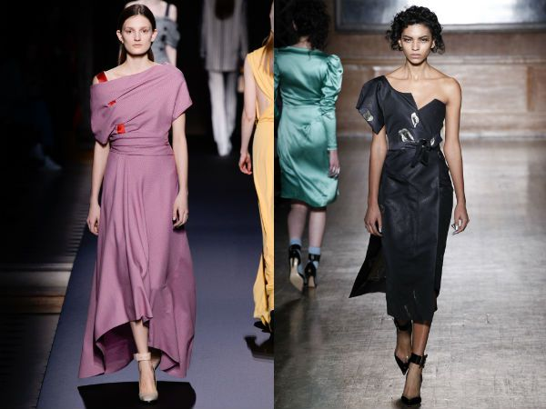 Асимметричные-платье-фото-модные-тенденции-2017-2