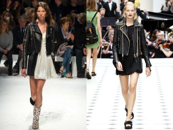 Модные-кожаные-куртки-байкери-и-тренчи-2016-фото-1