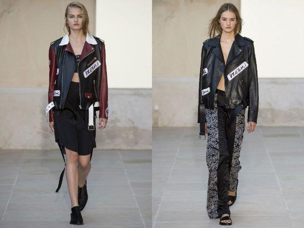Модные-кожаные-куртки-байкери-и-тренчи-2016-фото-2