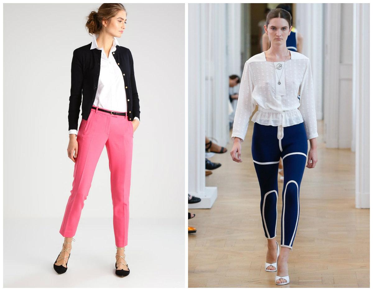 Брюки-женские-2019-года-модные-тенденции-фото-капри-летние-брюки женские 2019 года