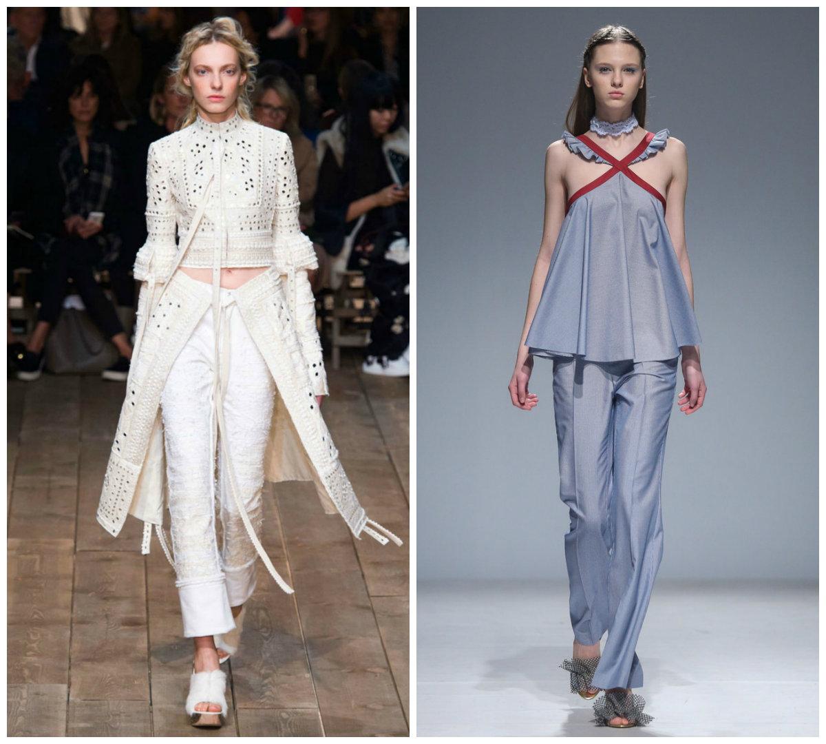 Брюки-женские-2019-года-модные-тенденции-фото-летние-брюки женские 2019 года