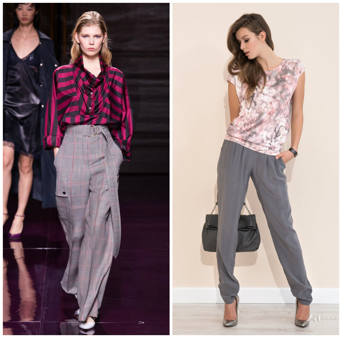 Брюки-женские-2017-года-модные-тенденции-фото-брюки женские 2017 года. Обзор
