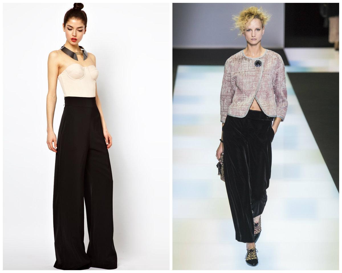 Брюки-женские-2017-года-модные-тенденции-фото-брюки женские 2017 года