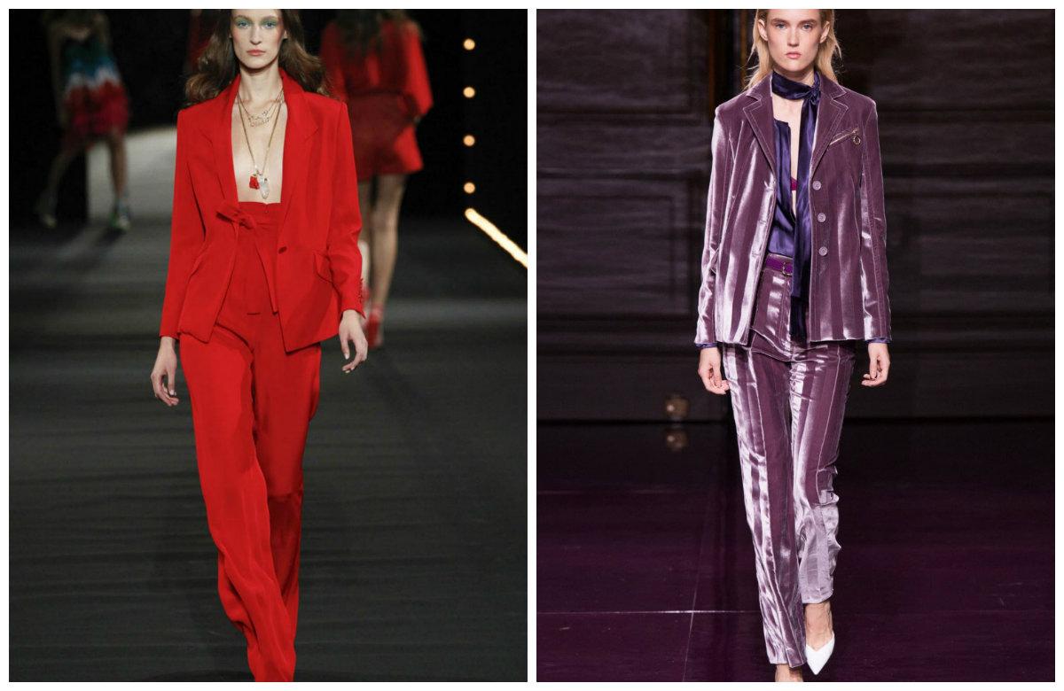 Брюки-женские-2019-года-модные-тенденции-фото-скини-брюки женские 2019 года