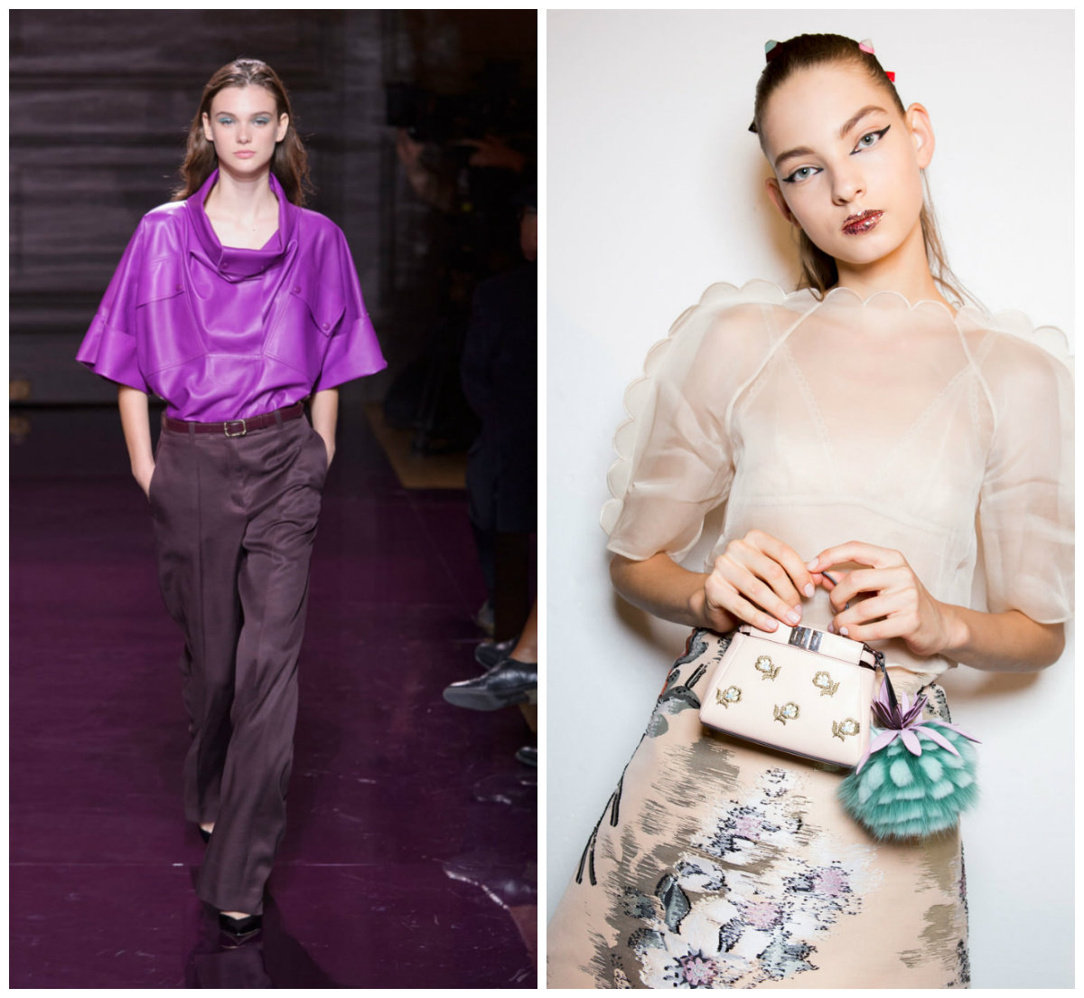 Женские-блузки-2018-романтика-Фото-Модные блузки 2018 женские-Женские блузки 2018