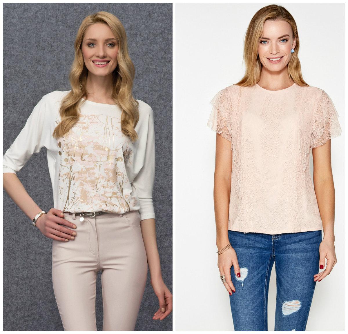 Модели модных блузок