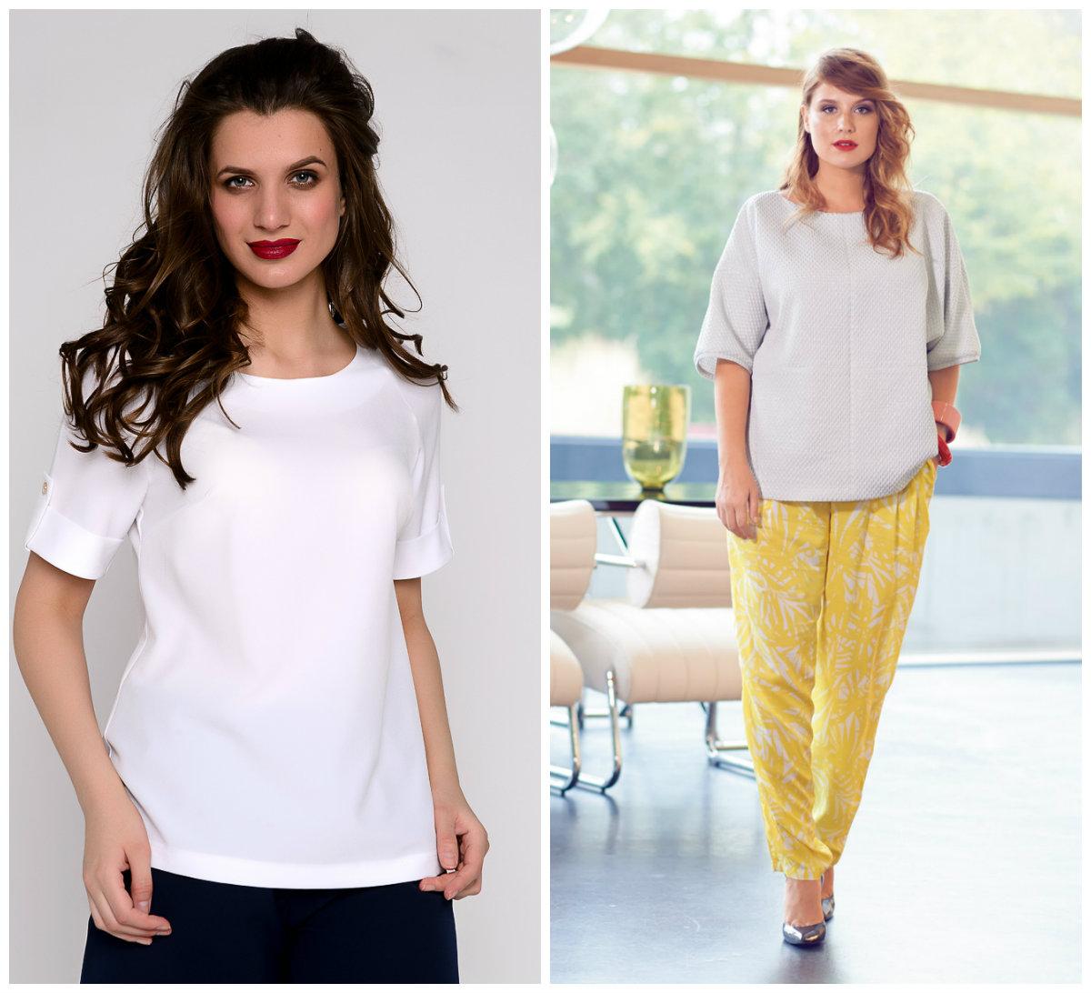 Женские-блузки-2018-романтика-Фото-белый-классика-Модные блузки 2018 женские-Женские блузки 2018