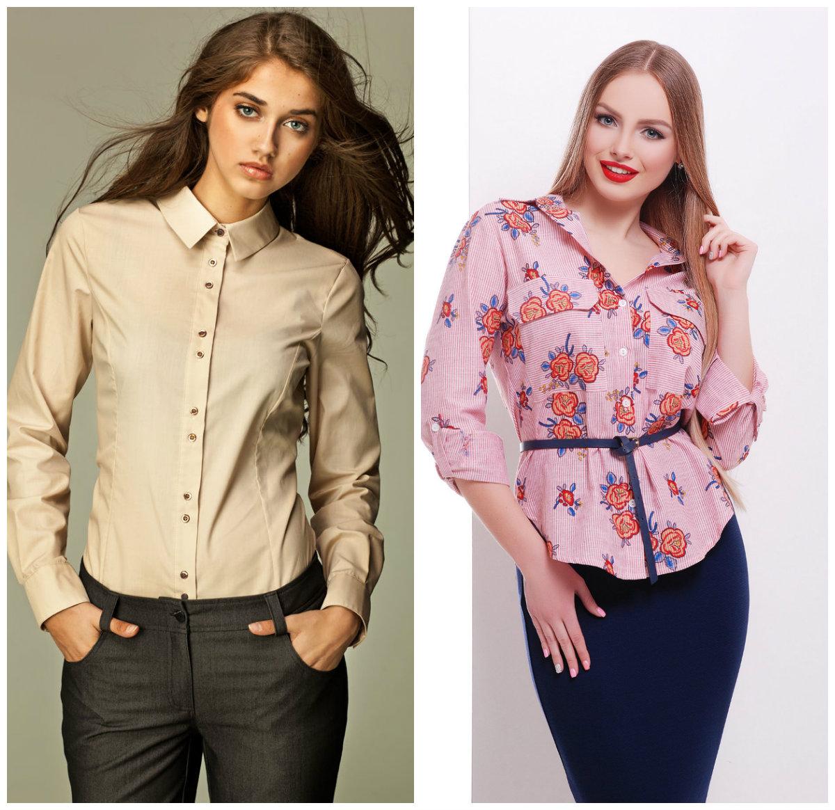 Женские-блузки-2019-сорочки-Фото-Модные блузки 2019-Женские блузки 2019