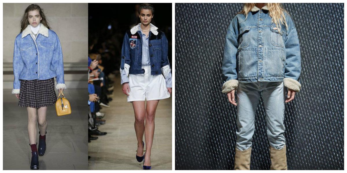 Куртки-женские-2018-модные-модели-джинс-Модные женские куртки 2018