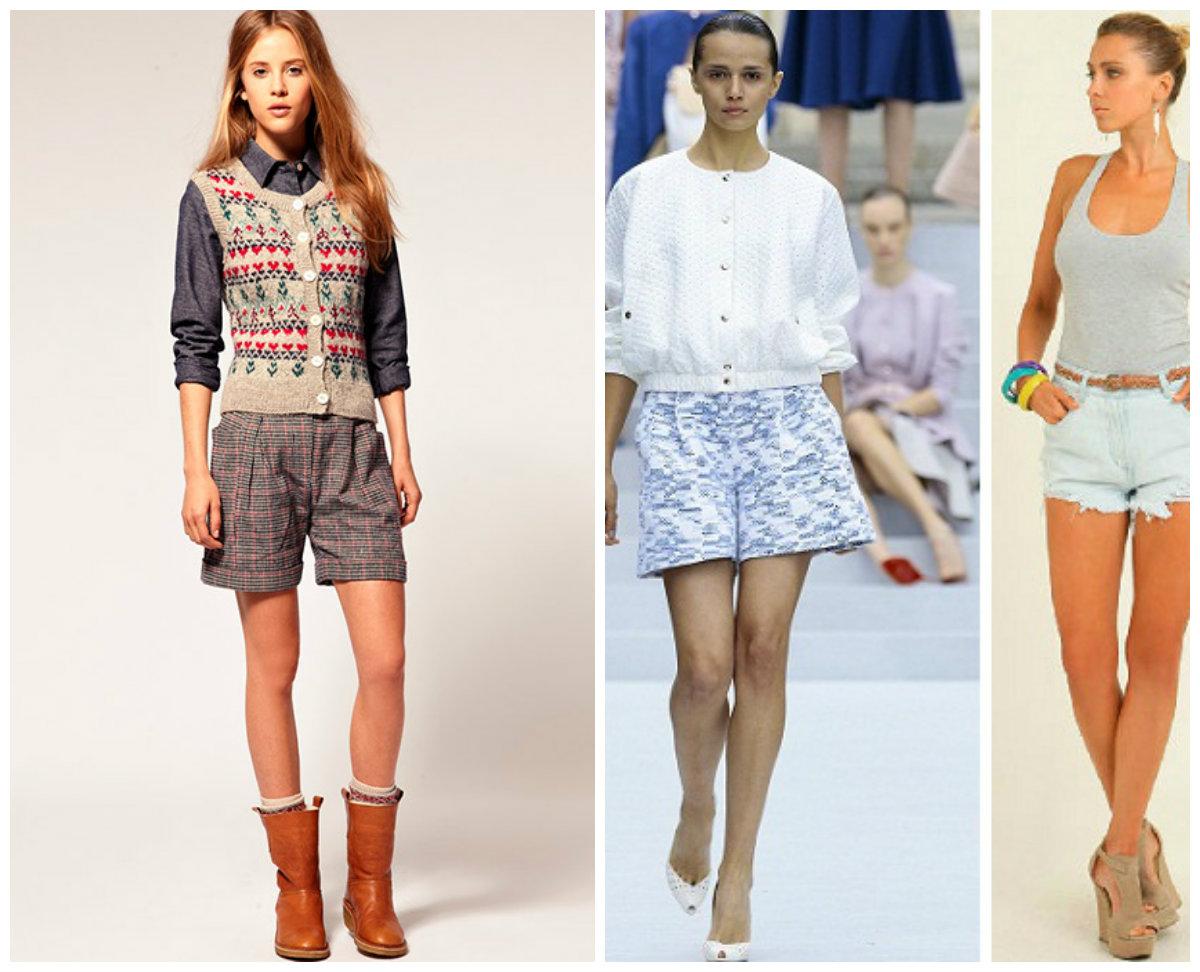Модные шорты 2016 — женские секреты