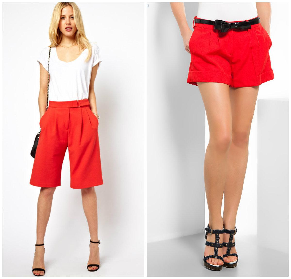Модные-шорты-2019-женские-фото-Модные шорты 2019 женские