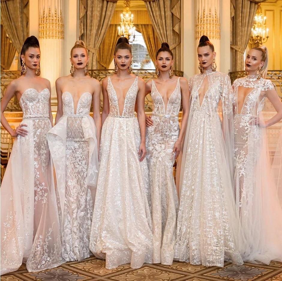 99edb960e27 Свадебные платья 2019  Модные тенденции сезона (Фото+Видео)