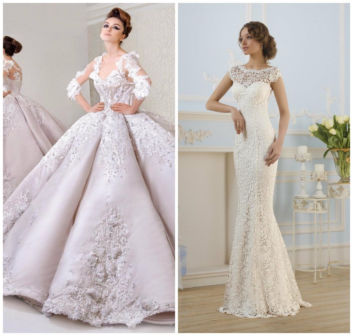 Мода свадебные платья 2017 фото