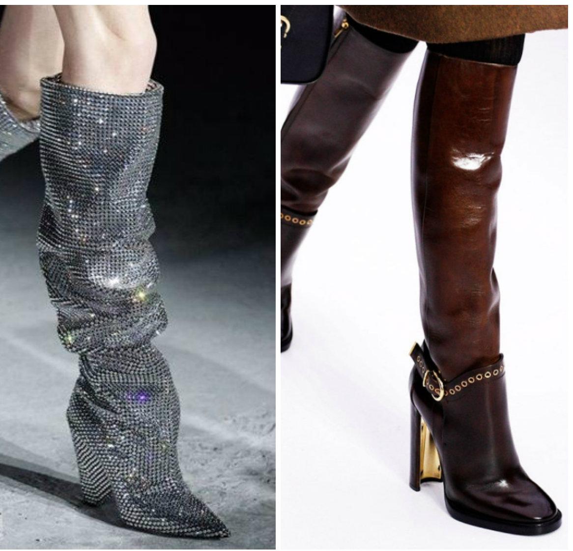 Модная-женская-обувь-2018-для-зимы-фото-обувь 2018 фото