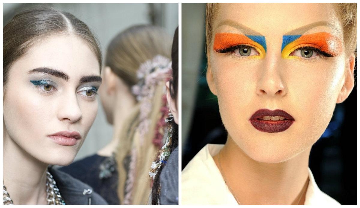 Модный-макияж-2018-основные-тенденции-фото-актуальный-макияж 2018-макияж Фото 2018