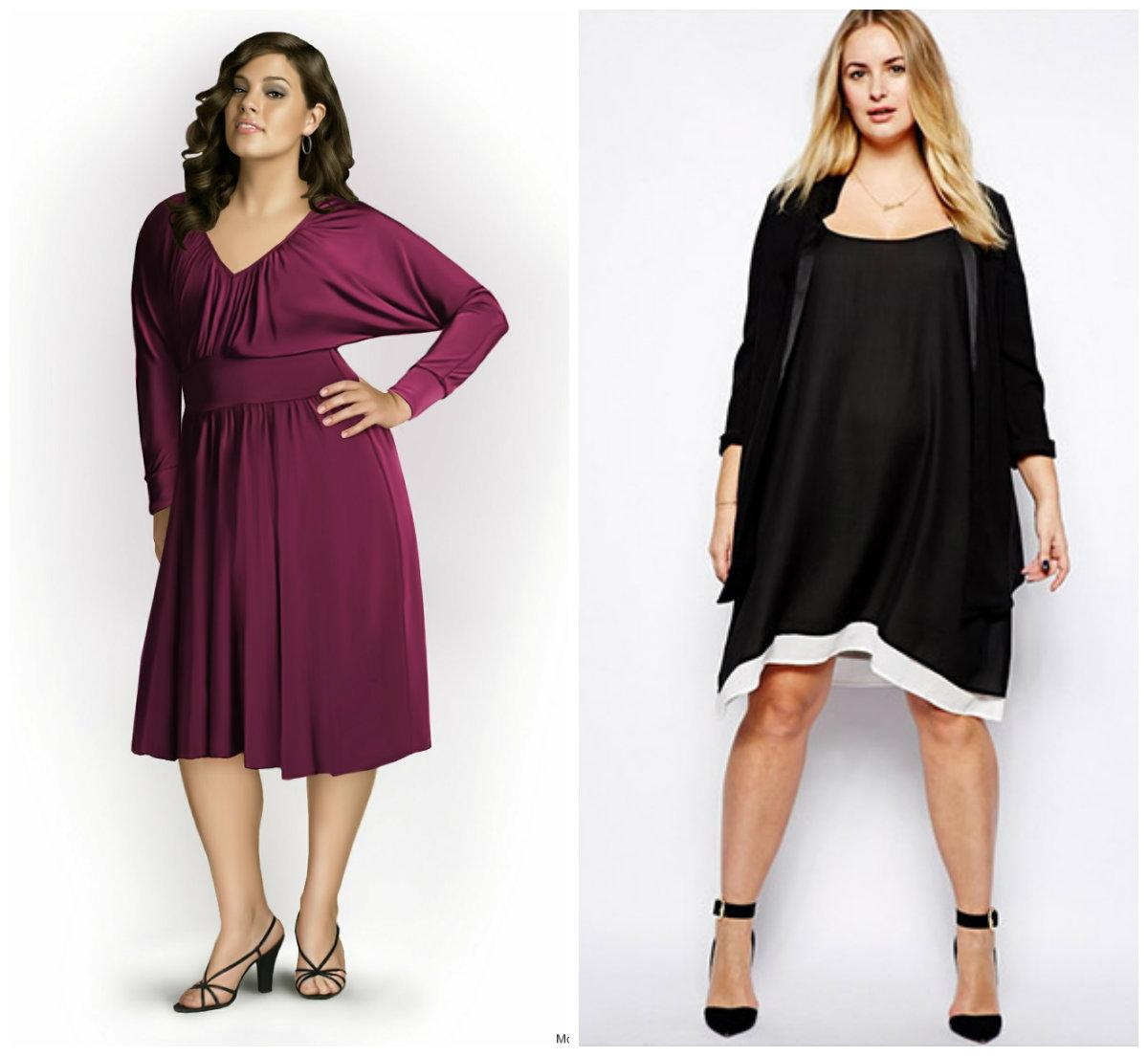 Женская-одежда-больших-размеров-2018-Блузки-Брюки-Принты-Длина-фото-Одежда для полных 2018