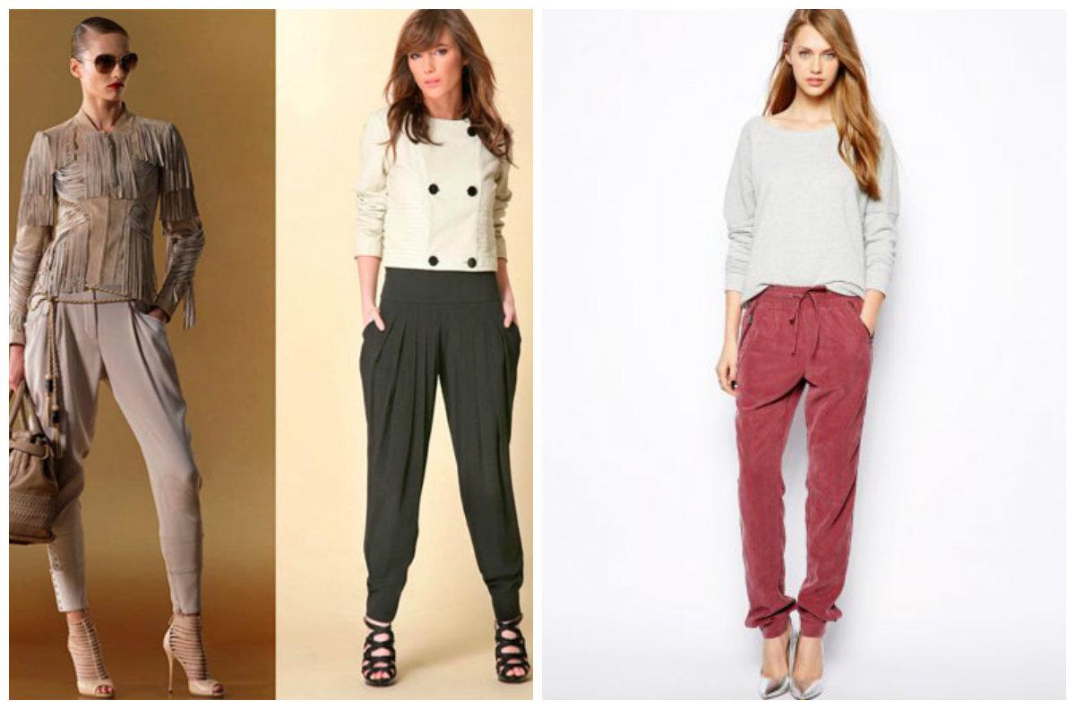 Модная-женская-одежда-2018-фото-Одежда-из-денима-шуба-яркие-колготки-брюки-Модные тенденции женской одежды 2018
