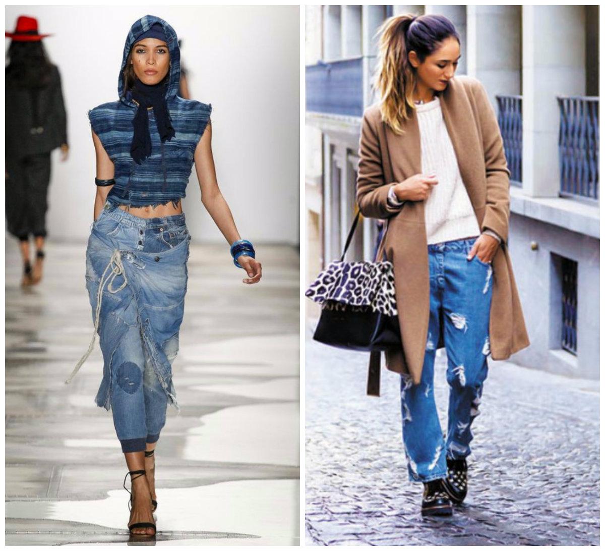 Модные-джинсы-2018-женские-Крой-фото-Длина-Крой-Декор-Цвет-Модные джинсы 2018