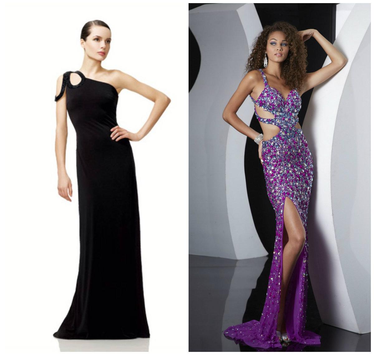Модные-летние-платья-2018-для-вечерних-выходов-Black-dress