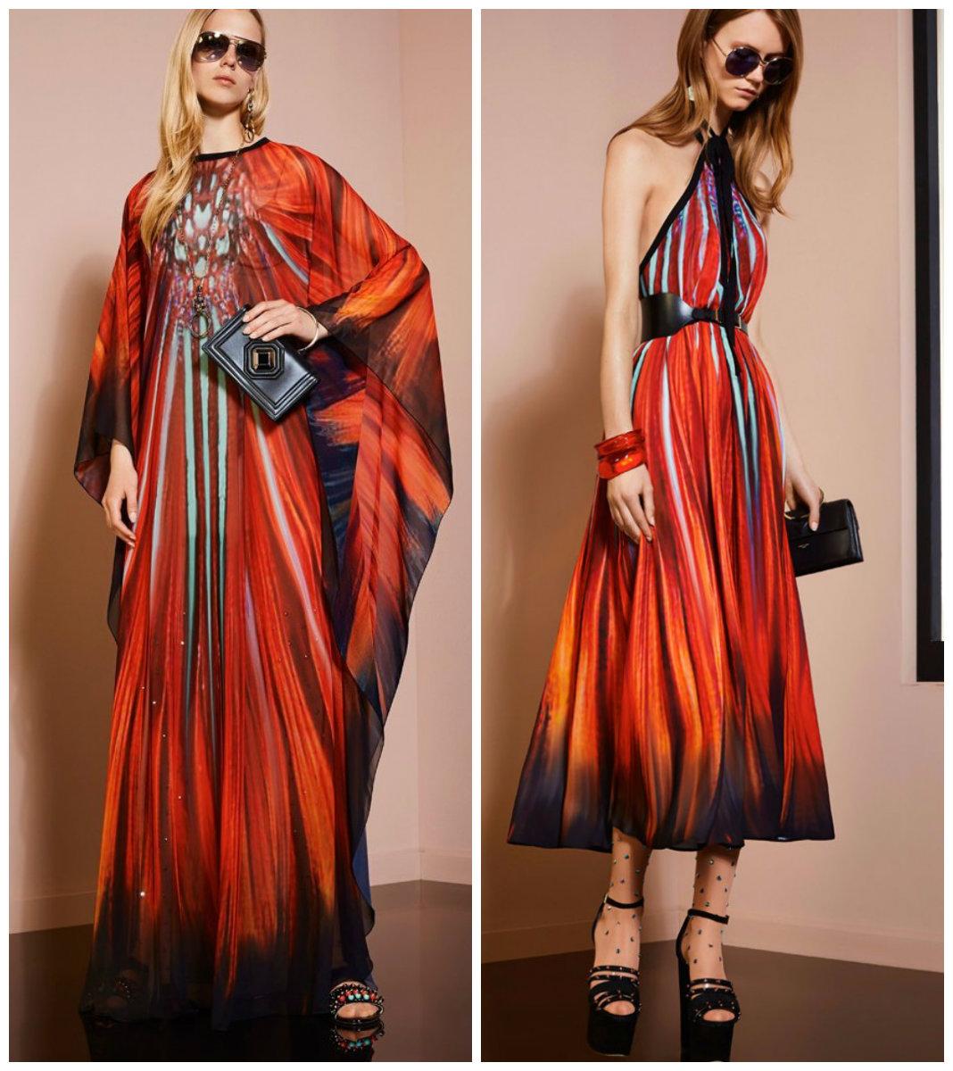 Новинки-вечерних-платьев-2018-стильные-Необычные-фото-новинки вечерних платьев 2018
