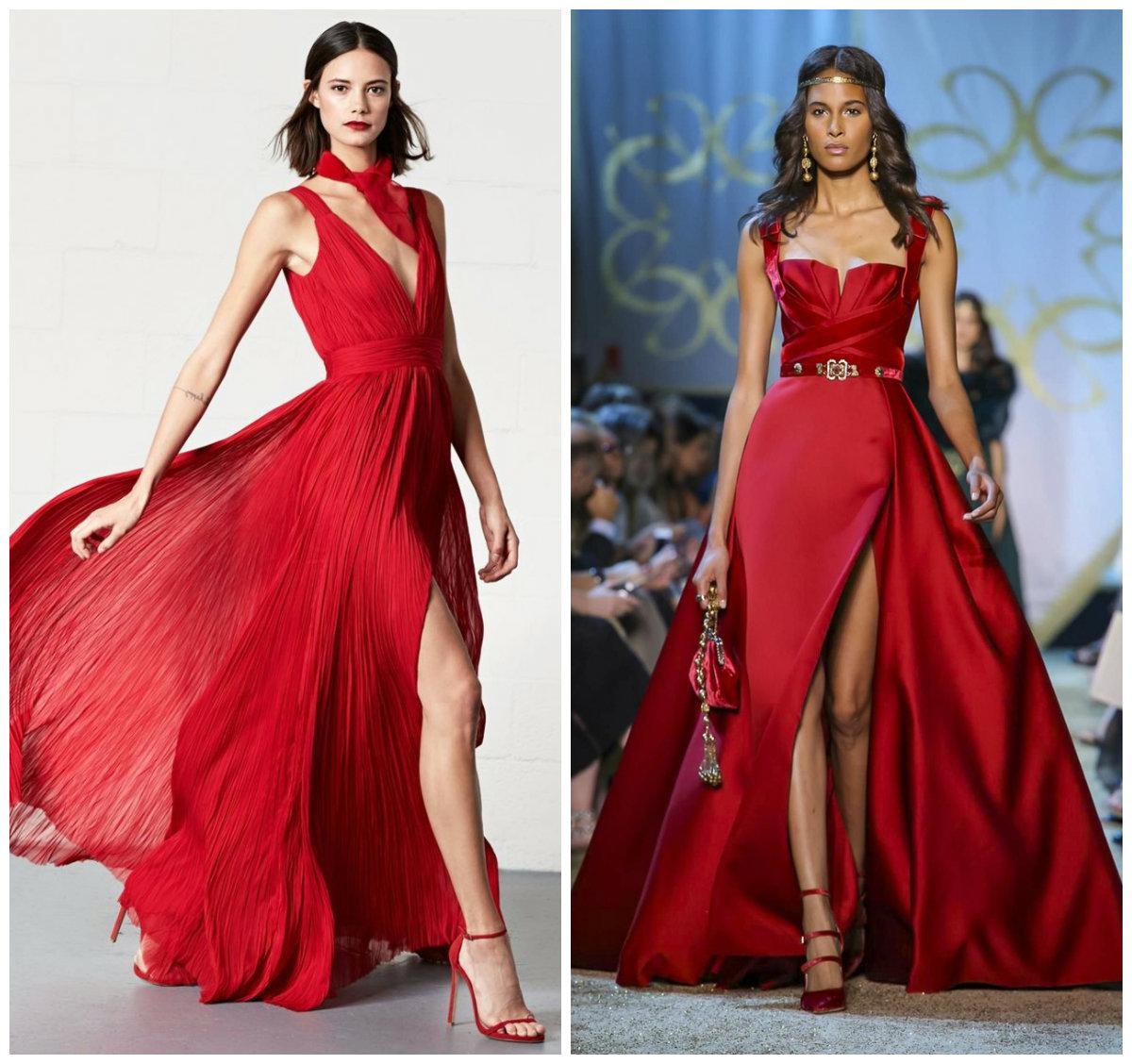Новинки-вечерних-платьев-2018-стильные-Необычные-фото-вечерние платья 2018