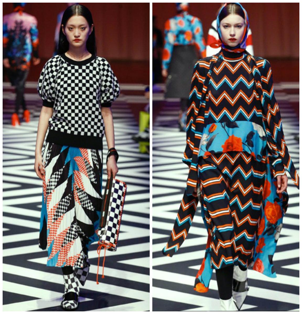Тенденции-женской-моды-2018-года-фото-одежда-из-денима-деловой-стиль-авангард-Тенденции моды 2018-Мода 2018, основные тенденции