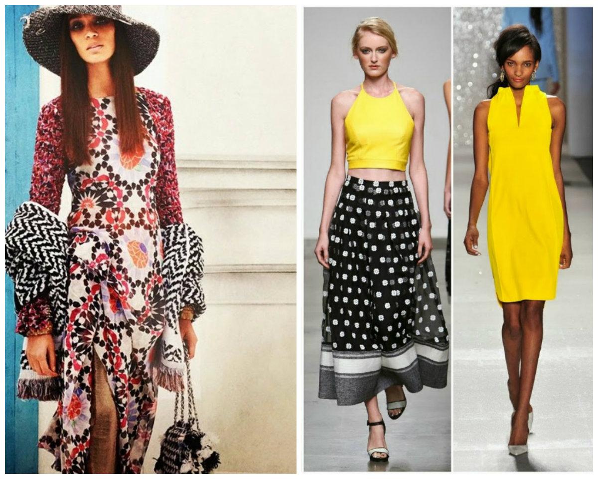Тенденции-женской-моды-2018-года-фото-одежда-из-денима-деловой-стиль-авангард-Мода 2018, основные тенденции