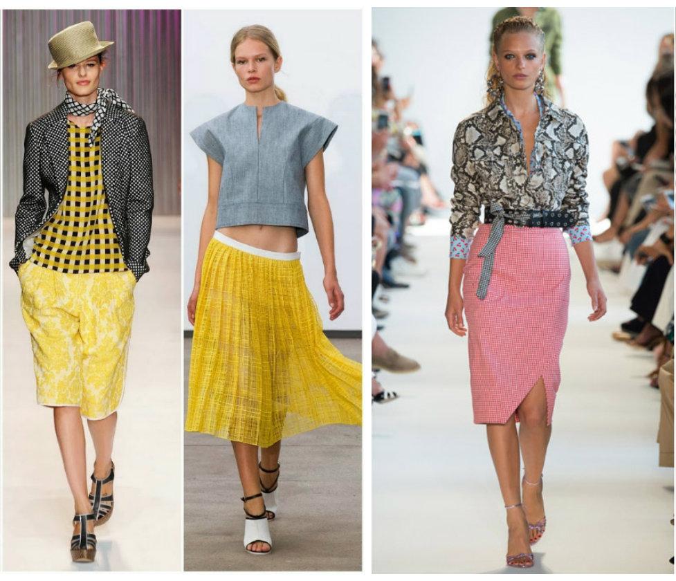 Тенденции-женской-моды-2019-года-фото-одежда-из-денима-деловой-стиль-авангард-Тенденции моды 2019