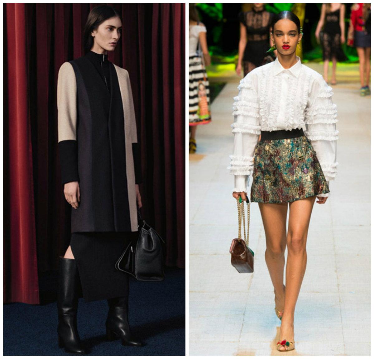 Тенденции-женской-моды-2019-года-фото-одежда-из-денима-деловой-стиль-авангард-Мода 2019, основные тенденции