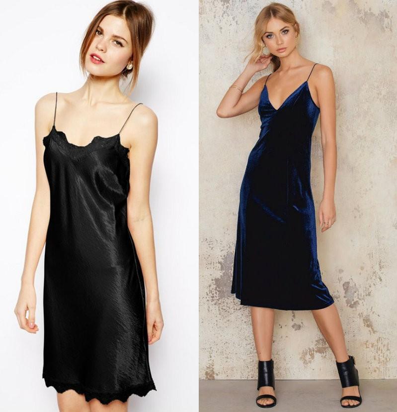 Модные платья 2018_бельевой стиль