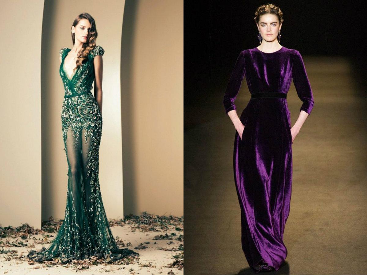 Модные платья 2018: вечерние наряды
