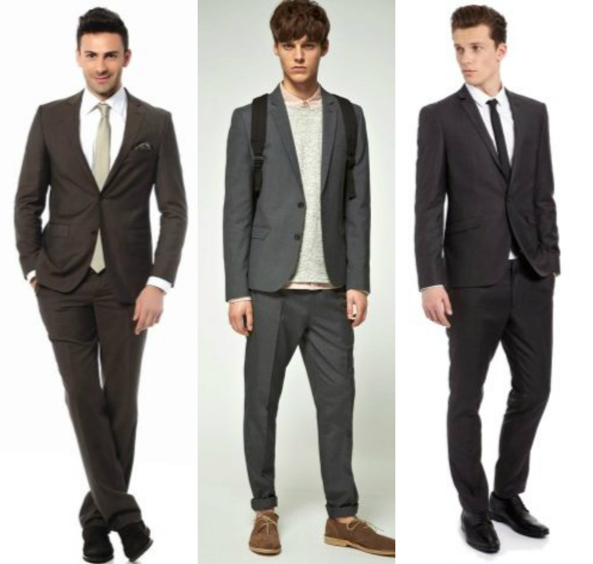 Мужские костюмы 2018: модели для молодежи