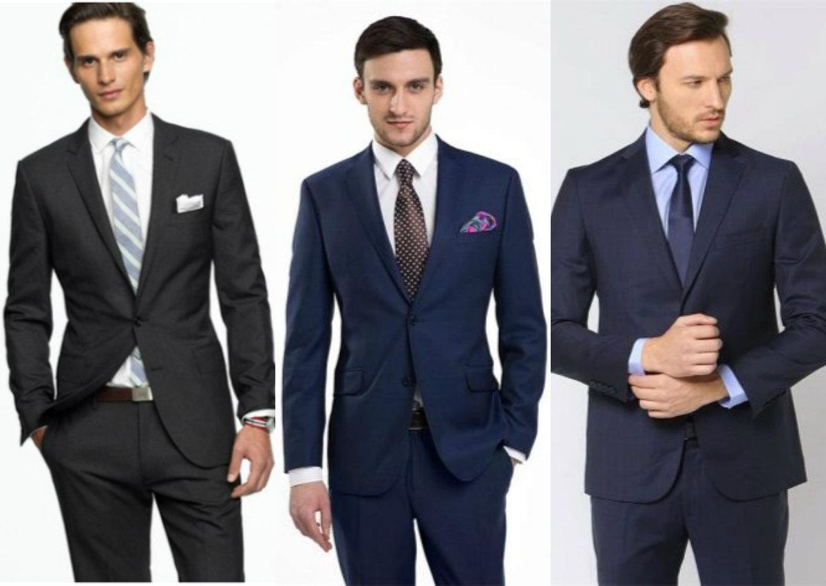 Мужские костюмы 2018: офисный стиль