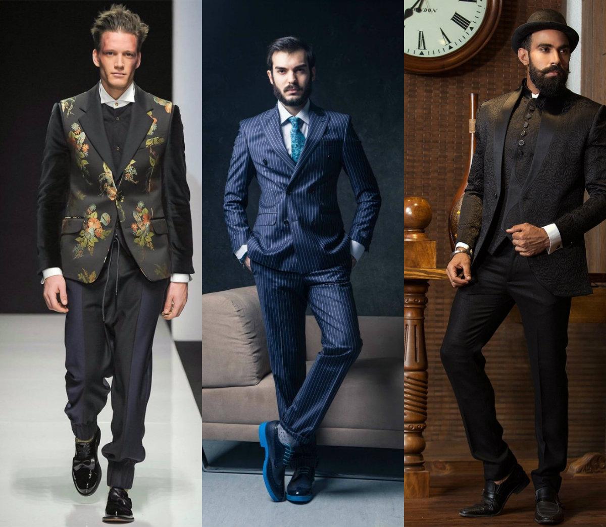 Мужские костюмы 2018: элегантные модели