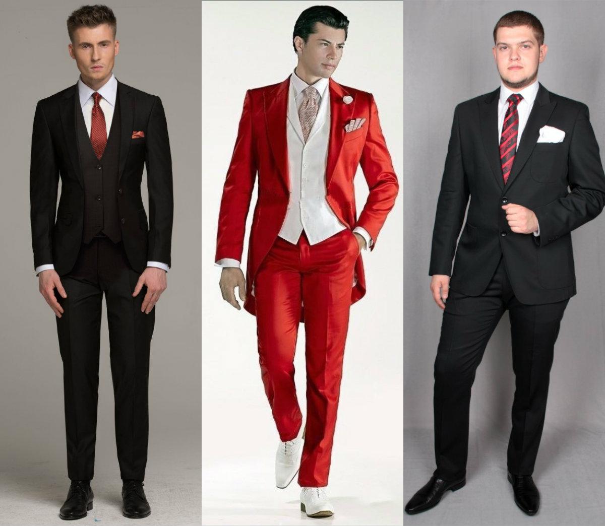 Мужские костюмы 2018: от сдержанных до ярких красок