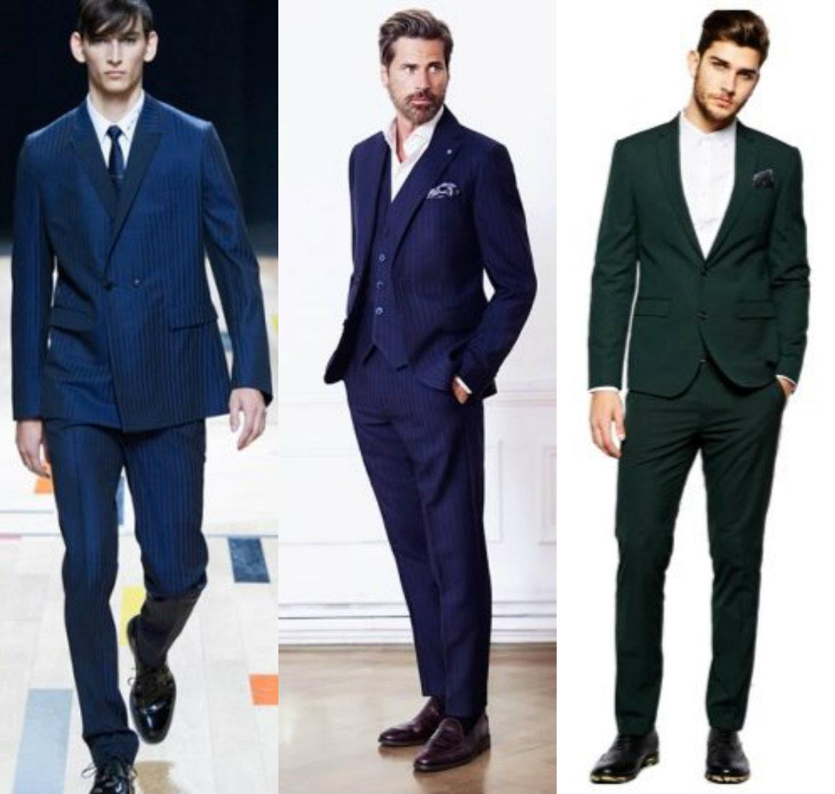 Мужские пиджаки 2018: строгая классика
