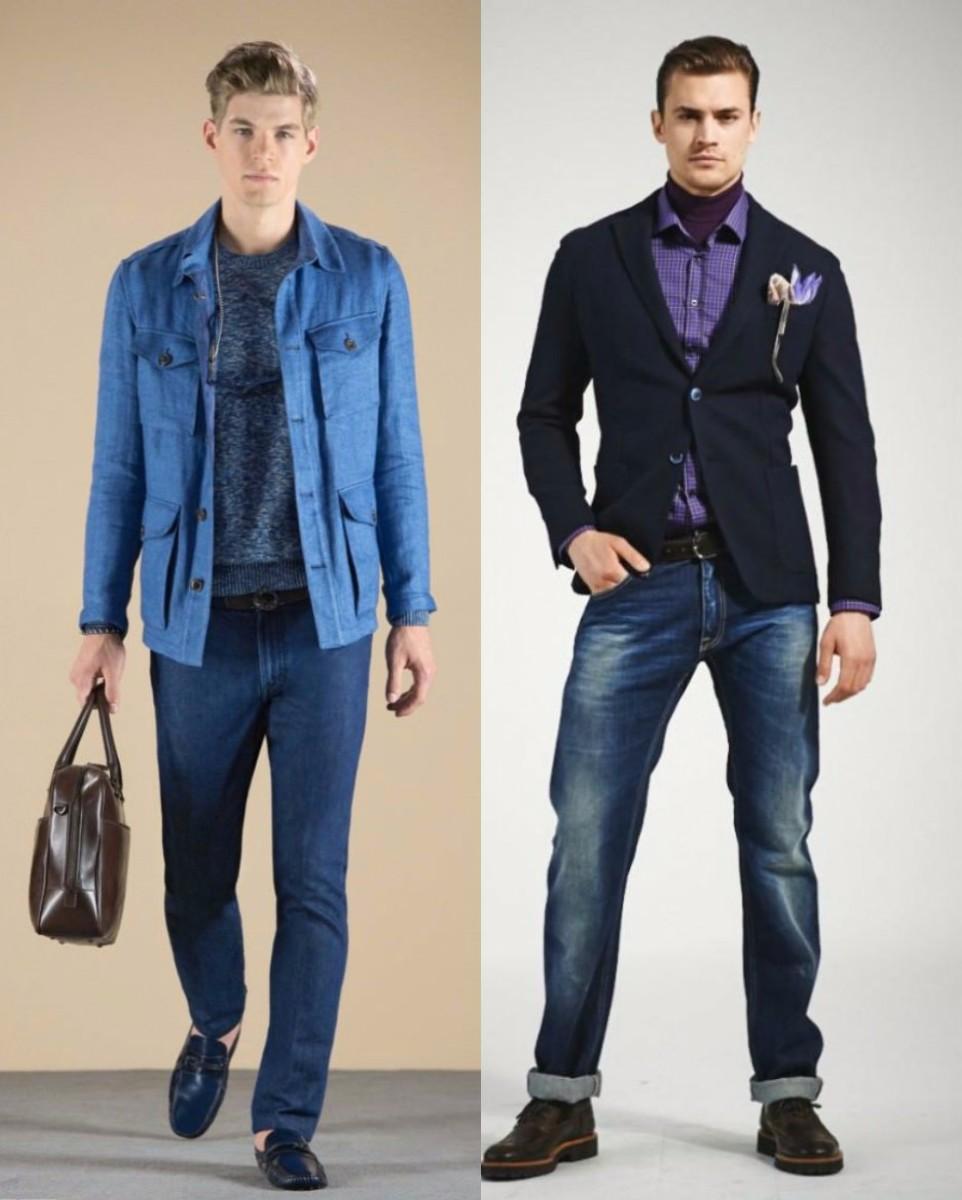 Мужские пиджаки 2018: модели под джинсы
