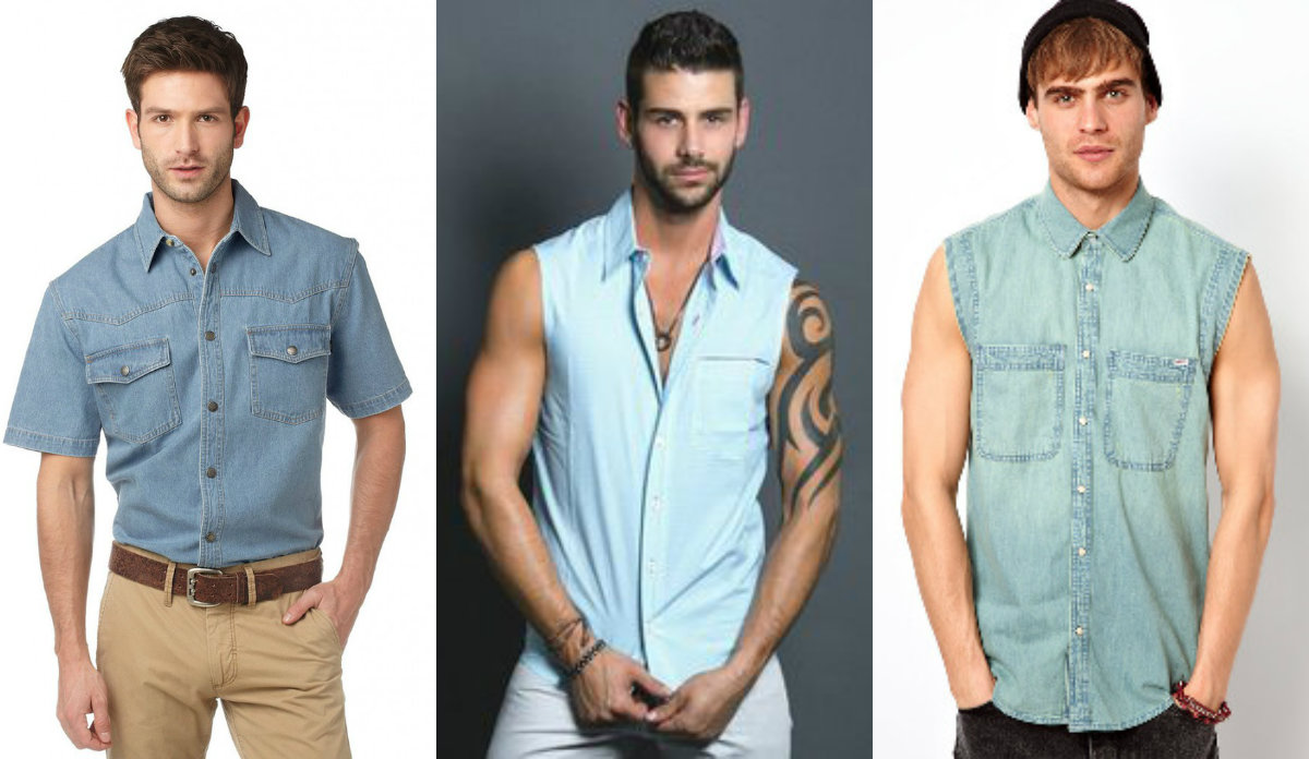 Мужские рубашки 2019:молодежная мода