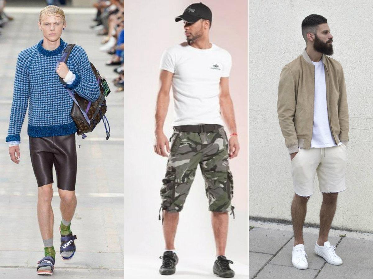 Мужские шорты 2019: модели на любой вкус