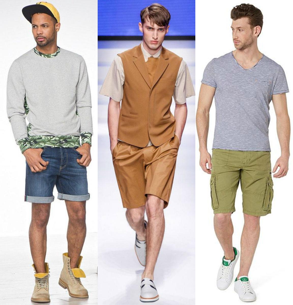 Мужские шорты 2019: все варианты